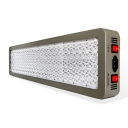 600W Dimmable LED Grow Light Full Spectrum 200 LEDs - Gray