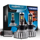 NIGHTEYE T1 Car LED Headlight Bulbs H7 80W 9000LM 6000K CSP LED Pack of 2