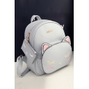 Lovely Cartoon Cat Printed New Fashion School Bags Backpack