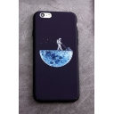 New Arrival Stylish Planet Astronaut Pattern Phone Case for iPhone