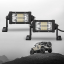 7D+ 5 Inch LED Work Light Bar 108W 60 Degree Spot Beam OSRAM For Off Road Truck ATV SUV 4WD Car Pack of 2- 2017 NEW ARRIVAL