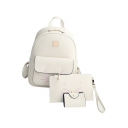 Lovely Cartoon Pattern Students' Basic Simple Leisure Backpack