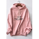 New Fashion Loose Long Sleeve Letter Pattern Cotton Hoodie