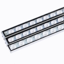 108W Waterproof LED Grow Lights Bar LED Plant Strip Lamp Red Blue 18 LEDs 1.2m