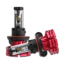 NIGHTEYE X1 Car LED Headlight Bulbs H13 60w 10000LM 6500K LUXEON ZES LED Pack of 2