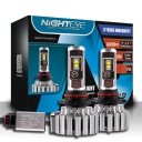 NIGHTEYE T1 Car LED Headlight Bulbs 9005/HB3 70W 9000LM 6000K CSP LED Pack of 2