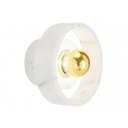 Marble Stone Circle Wall Light