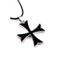 Knight Cross Design New Fashion Exquisite Pendant Necklace
