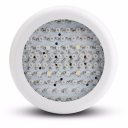 UFO 216W Full Spectrum LED Grow Light 72 LEDs 5000LM - White