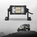 7D+ 5 Inch LED Work Light Bar 54W 60 Degree Spot Beam OSRAM For Off Road Truck ATV SUV 4WD Car - 2017 NEW ARRIVAL