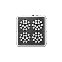 180W Apollo Series Led Grow Light Full Specturm 60 LEDs - White