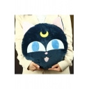 Cute Cartoon Cat Shaped Round Comfortable Pillow