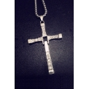 Fashion Unisex Accessory Crucifix Pendant Necklace
