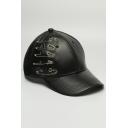 New Stylish Pin Hoop Design Hip Hop Style Cool Unisex Baseball Cap