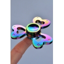 Hot Fashion Sweetheart Design Colorful Playing Alloy Fidget Spinners