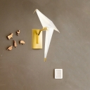 Paper Cranes Wall Sconce