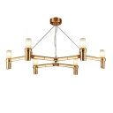 Candelabra Crown Chandelier Modern 19.7