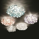 LED Ceiling Light Creative Designer Multi Color 27.5''
