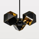 Modern Pendant Light In DNA Shape, 3 Lights