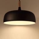 Wood Fashion Pendant Light 19''