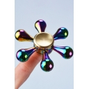 New Arrival Colorful Fingertip Design Alloy Playing Fidget Spinners
