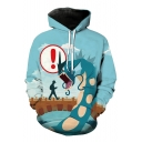 Unisex Hooded Cartoon Dragon 3D Printed Long Sleeve Hoodie Sweatshirt