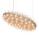 Double-sided Prop Round Chandelier