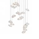 Glass Stone Multi-light Pendant 20 Lights