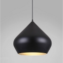 Matte Black Stout Pendant Light
