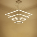 Four Layers LED Suspension 35.4''