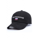 New Arrival Chic Letter Embroidered Outdoor Unisex Leisure Baseball Cap
