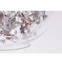 Silhouette Pendant Light Glass, Golden