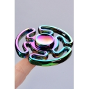 New Fashion Colorful Maze Design Playing Alloy Fidget Spinners