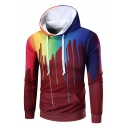 Color Block New Fashion Long Sleeve Oversize Loose Leisure Hoodie