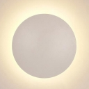 Ultra Thin LED Wall Light Round Whtie Wall Washer