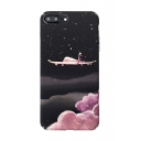 New Arrival Stylish Plane Printed Mobile Phone Case for iPhone