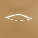 Square LED Suspension 15.7''