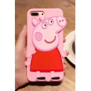 Lovely Cartoon Pig Printed Mobile Phone Case for iPhone