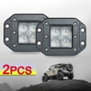 5 Inch LED Work Light 20W 60 Degee Flood Beam For Off Road 4x4 Jeep Truck ATV SUV, 2 Pcs
