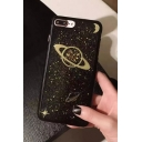 Fashion Galaxy Printed Epoxy Soft Case for iPhone