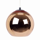 Chrome Ball Pendant Light Copper/Gold/Silver 17.71