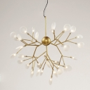 LED Wire Branch Structure Chandelier 36-Lt