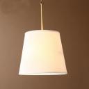 Linen Empire Shade Pendant Light 16