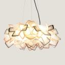 Polycarbonate Bouquet Pendant Light, 21'' Width