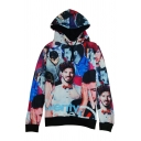 Hot Fashion 3D Character Pattern Long Sleeve Casual Leisure Hoodie
