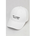Chic Embroidery Letter Pattern Adjustable Outdoor Baseball Cap