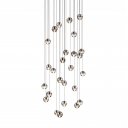 Cascade Glass Balls Pendant Light 26-Light