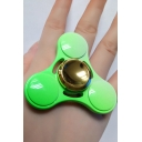 New Fresh Green Clover Playing Toy Alloy Fidget Spinners