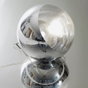 Mirror Ball Floor Lamp Chrome