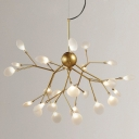 LED Wire Branch Structure Chandelier 27-Lt